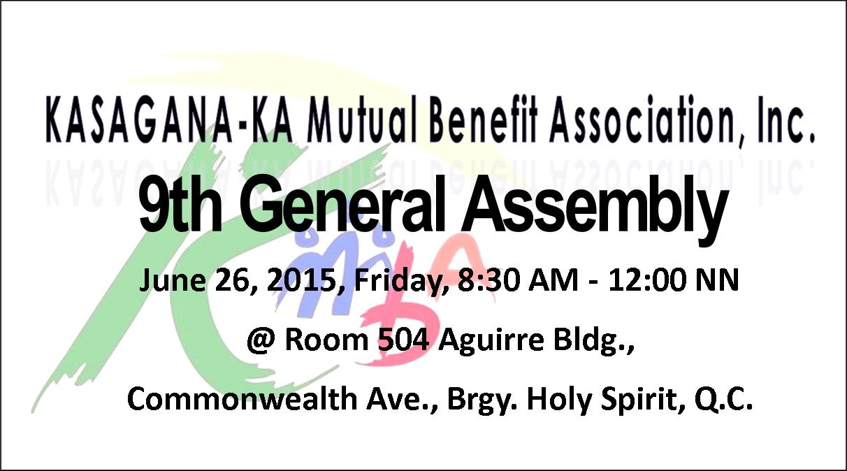 9th general assembly