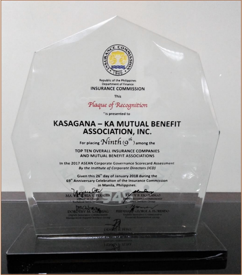 Kmba receives asean award