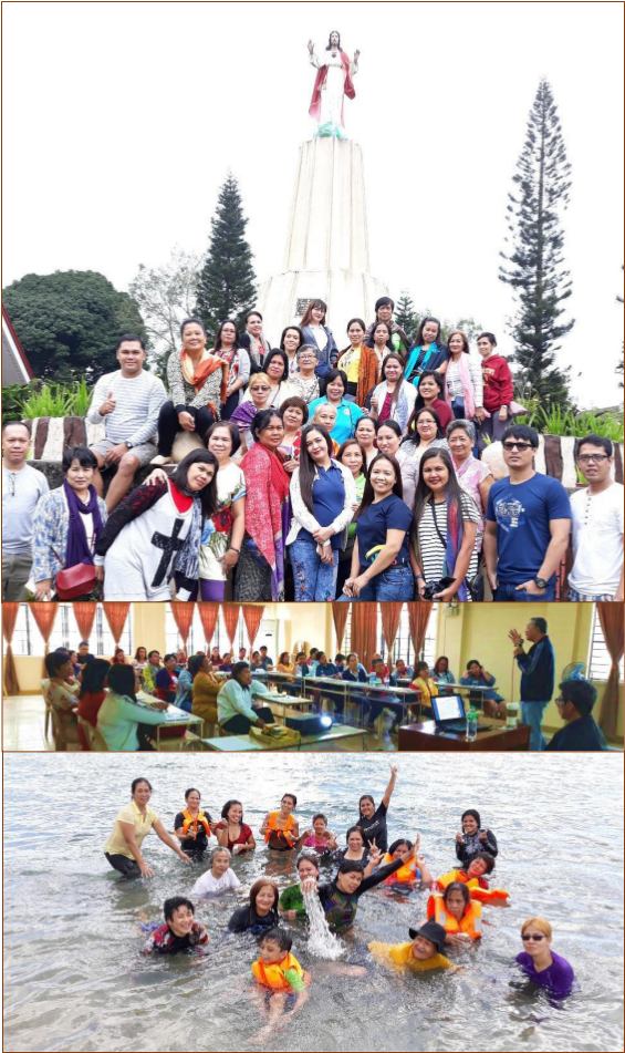 Kmba holds recollection and team building